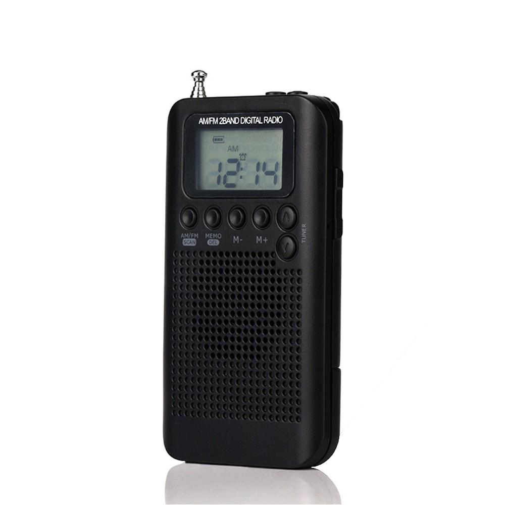 Hrd 104 Portable Am Fm Stereo Pocket Radio Sales Online Black Tomtop