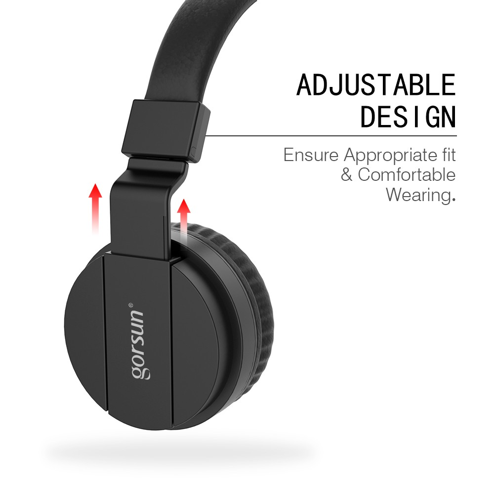 Gorsun 3 5mm Wired Gaming Headset Over Ear Sports