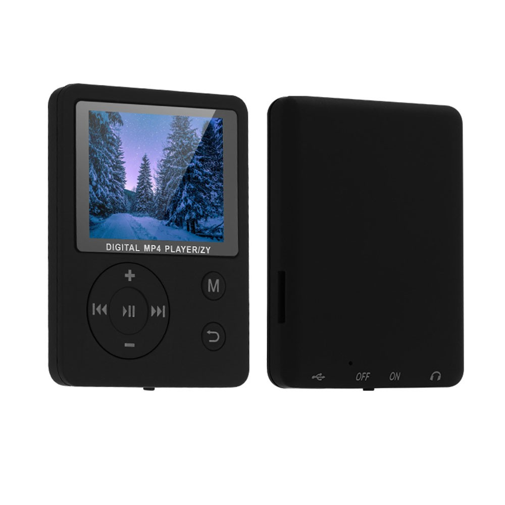 MP3 MP4 Digital Player 1 8 Inches Color Screen Music Player Lossless Audio  Video Player Support E-book FM Radio Voice Recording TF Card Stopwatch