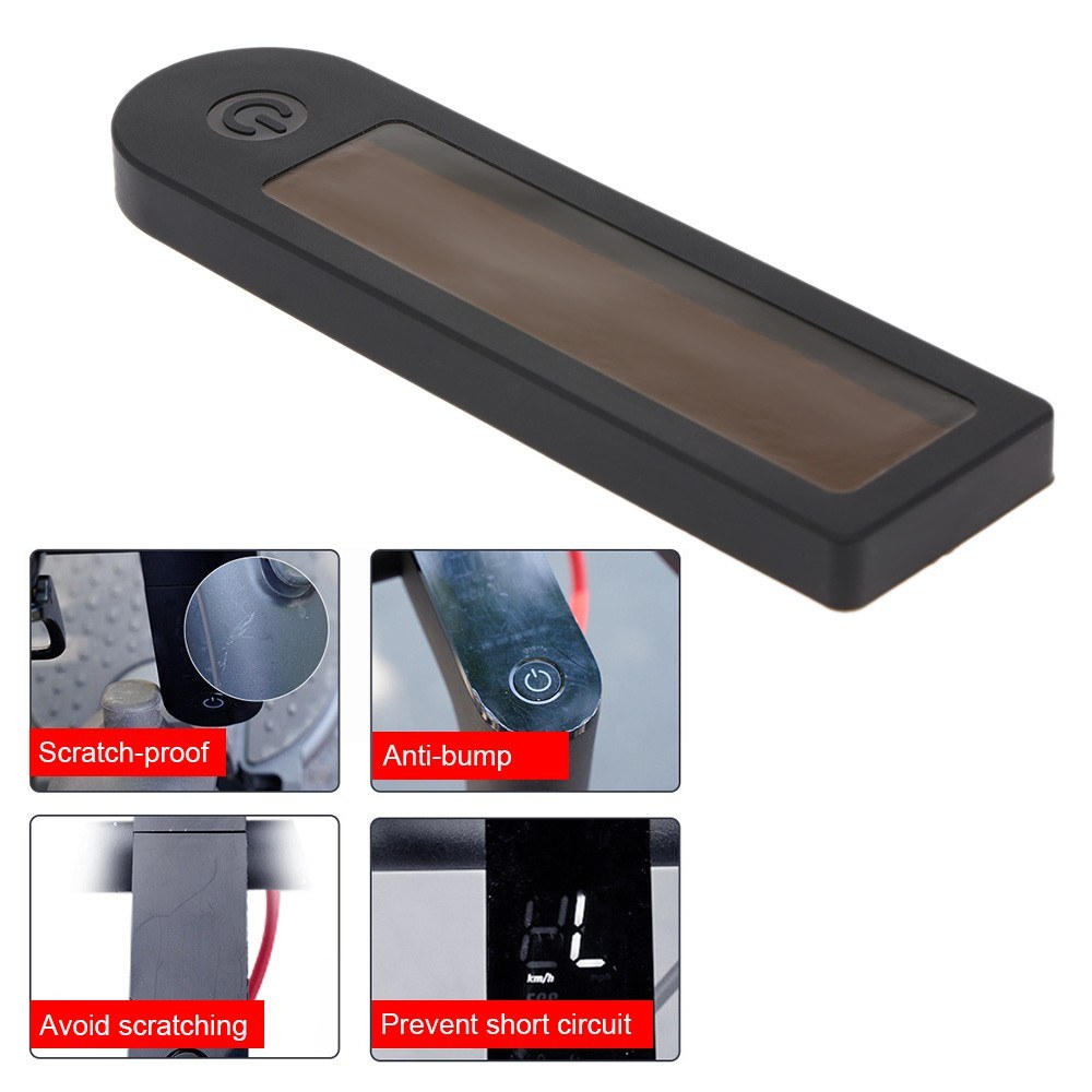 Waterproof Panel Cover Electric Scooter Panel Circuit Board Silicone Cover  for Xiaomi M365 Pro LED Display Silicone Sleeve Sales Online black - Tomtop