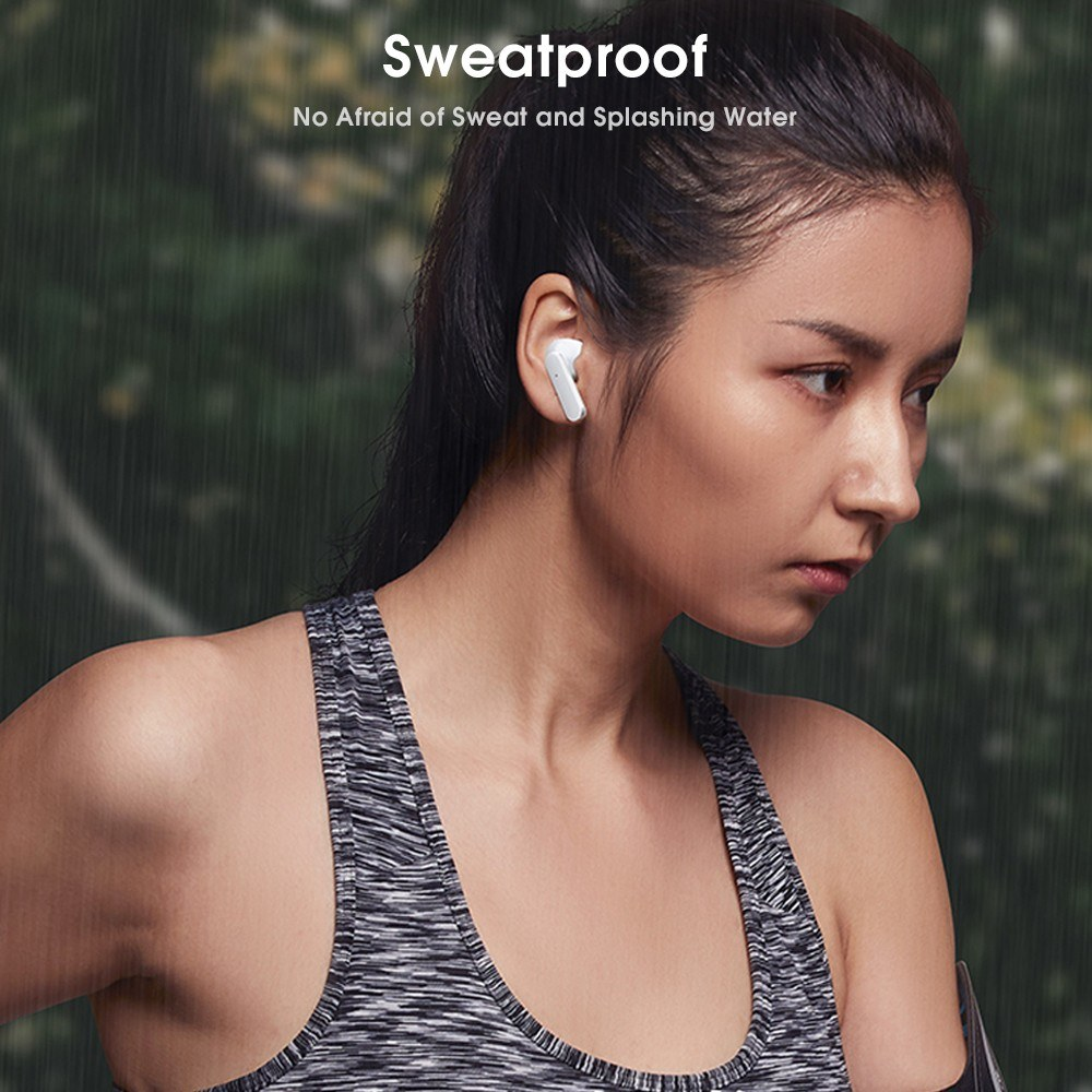 Lenovo XT90 TWS Earbuds Bluetooth 5.0 True Wireless Headphones Touch  Control Sweatproof Sport Headset In-ear Earphones with Mic 300mAh Charging  Case