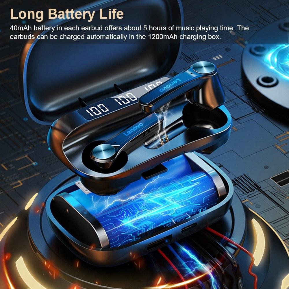 Lenovo QT81 Bluetooth 5.1 TWS Earbuds
