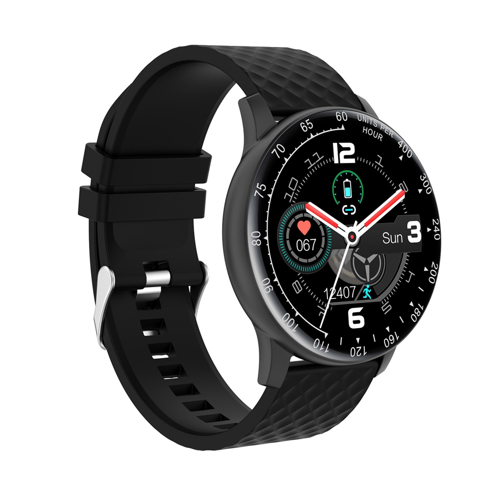 """Tomtop - 37% OFF 1.28"""" TFT LCD Screen Smartwatch Fitness Tracker, Free Shipping $23.49"""