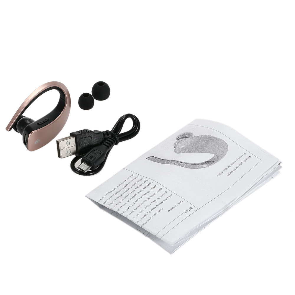 Arealer Q2 Wireless Stereo Bluetooth Headphone In-ear Sport Bluetooth 4.1 Music Headset Hands-