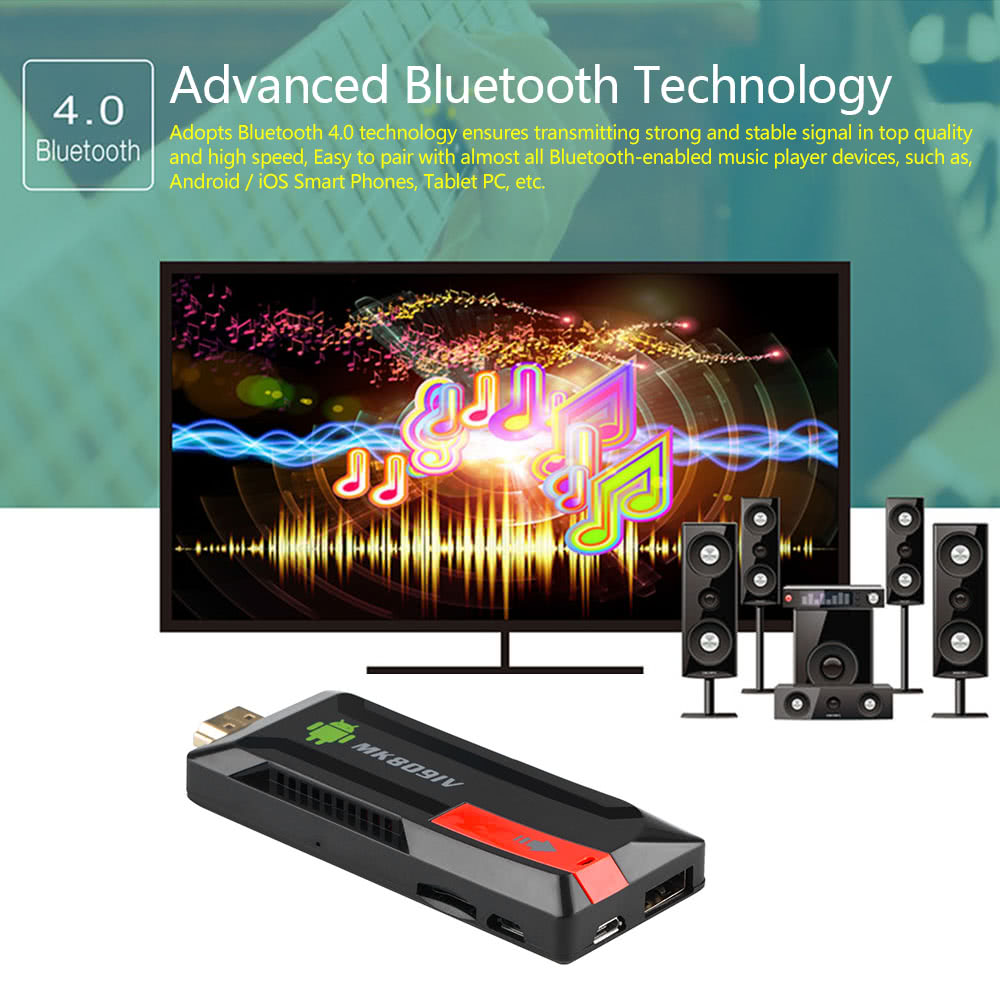 MK809 IV Android 5 1 1 HD 3D TV Dongle
