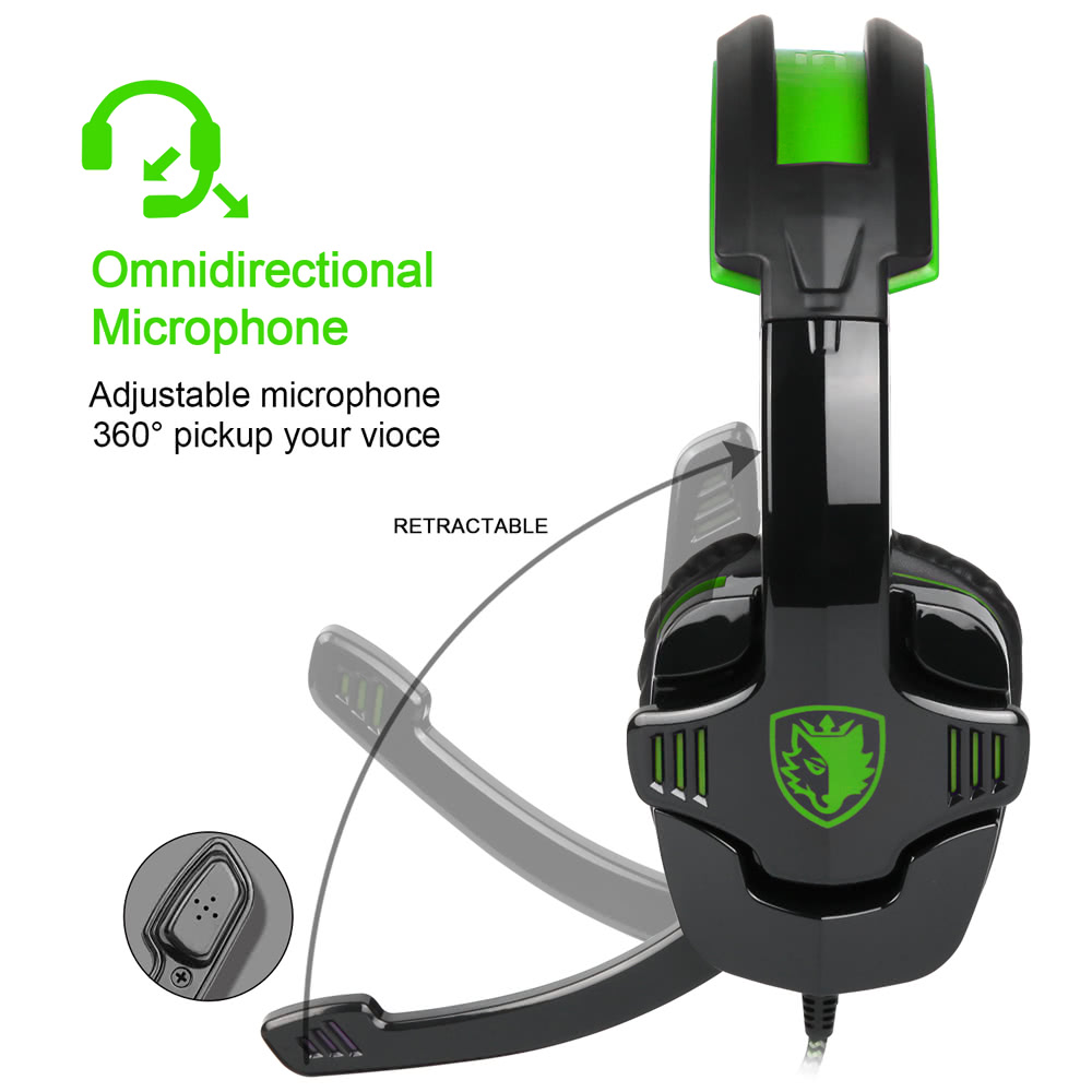 sades sa 930 gaming headset with microphone sales. Black Bedroom Furniture Sets. Home Design Ideas