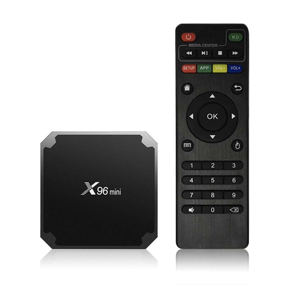 X96 MINI Android 7.1.2 TV Box 2GB / 16GB KODI 17.6 Pre-installed