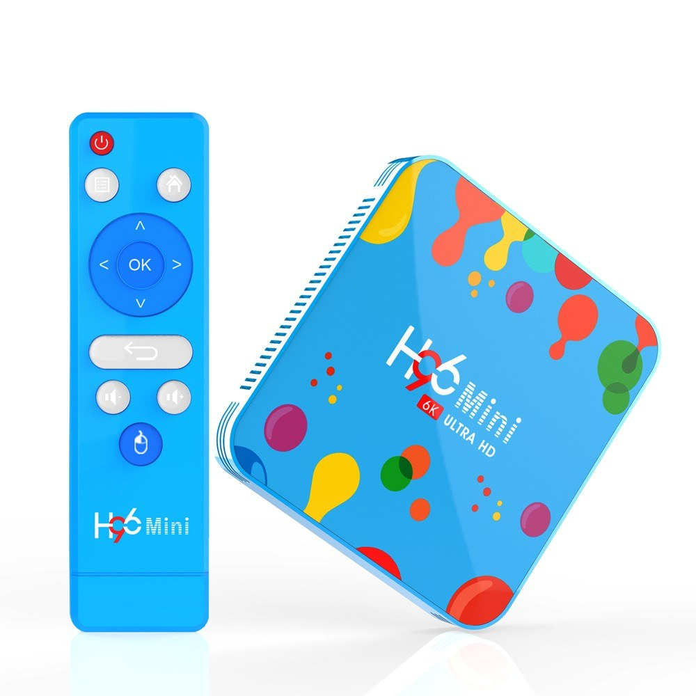 Android 9 0 Smart TV Box H96 Mini Allwinner H6 Quad Core 4GB RAM 128GB ROM  4K Media Player Sales Online 128g eu - Tomtop