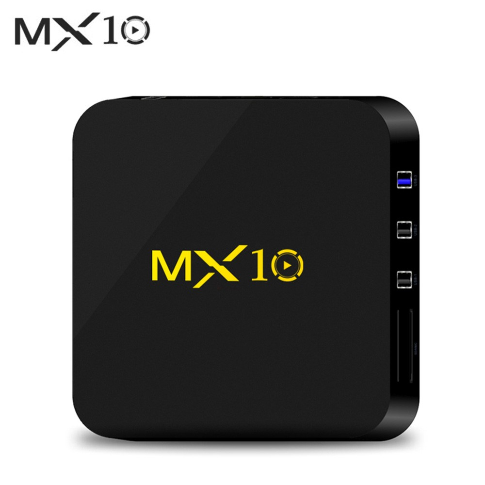 MX10 Smart Android 9 0 TV Box RK3328 4K VP9 H 265 HDR10 USB3 0 4GB / 32GB  DLNA Miracast WiFi LAN HD Media Player UK Plug