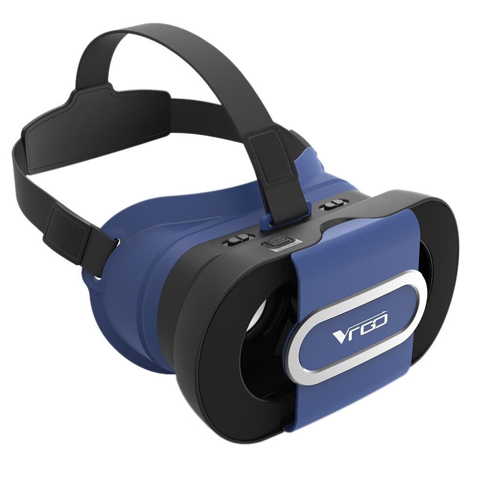 Beste VR Go Virtual-Reality-Brille 3D-VR-Box Headset Fesselnde blau ...