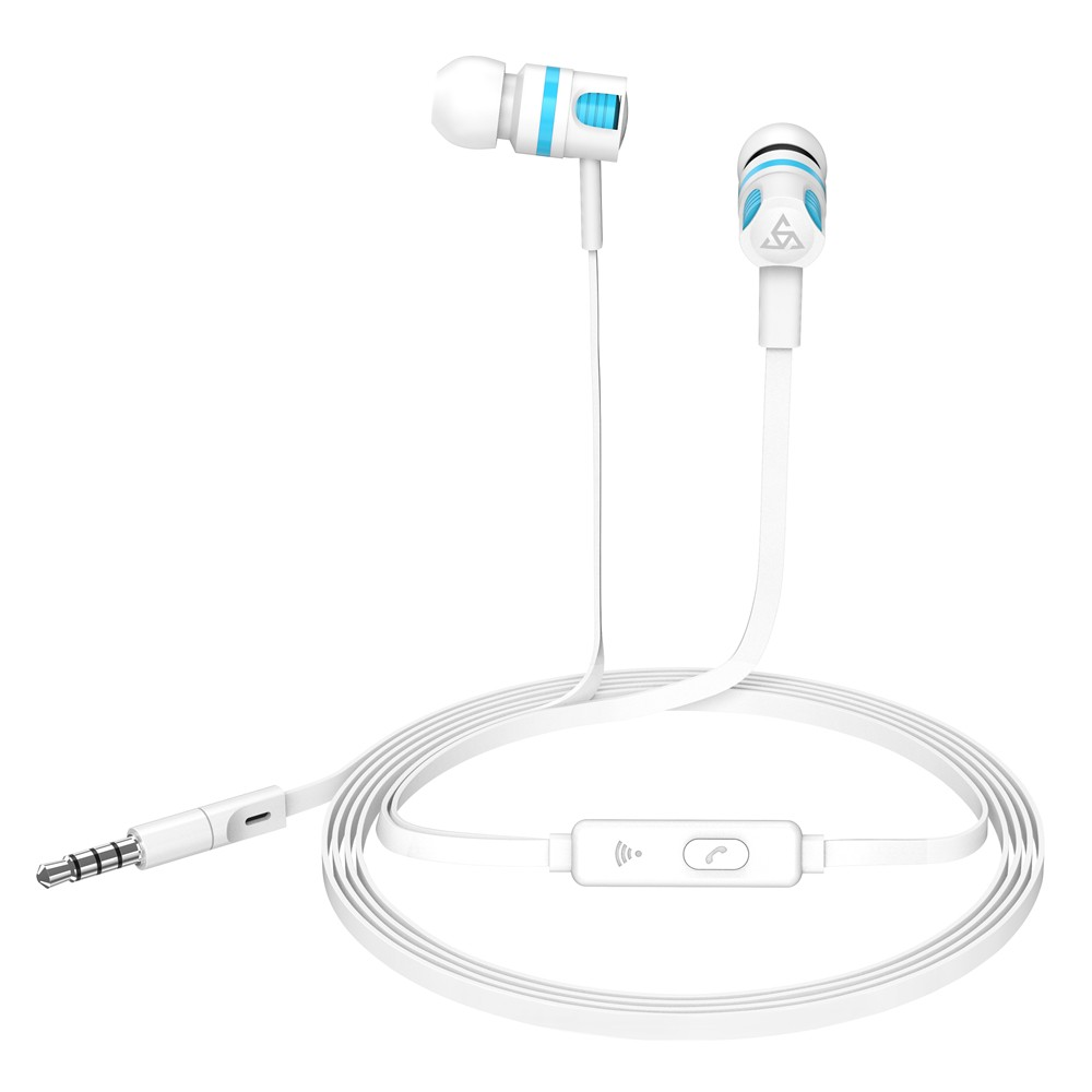 PTM Wired In-ear Earphones Stereo Gaming Headset Headphones with In-line  Control & Microphone for PSP iPhone iPad Android Smartphones Tablet PC  Laptop