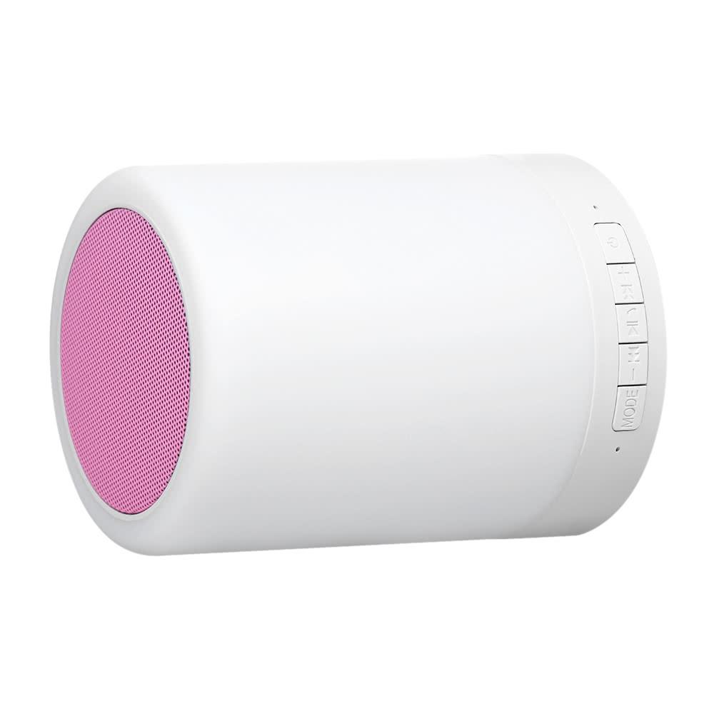 beste bluetooth lautsprecher touch tischlampe rosa verkauf online einkaufen. Black Bedroom Furniture Sets. Home Design Ideas