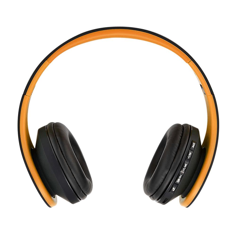 Headphone bluetooth hands free - orange headphones bluetooth