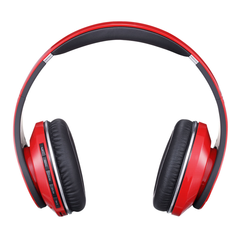 s750 wireless noise reduction stereo kopfh rer bt kopfh rer over ear stirnband headsets fm radio. Black Bedroom Furniture Sets. Home Design Ideas