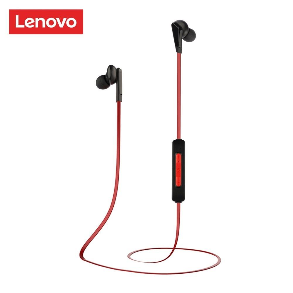 cafago.com - 48% OFF Lenovo HE01 Bluetooth 5.0 Wireless Headphones Neckband,free shipping+$9.09