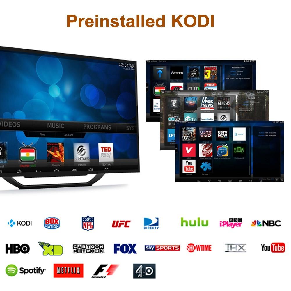 MXQ-4K Android 7 1 TV Box 1GB / 8GB 4K HD KODI 18 0