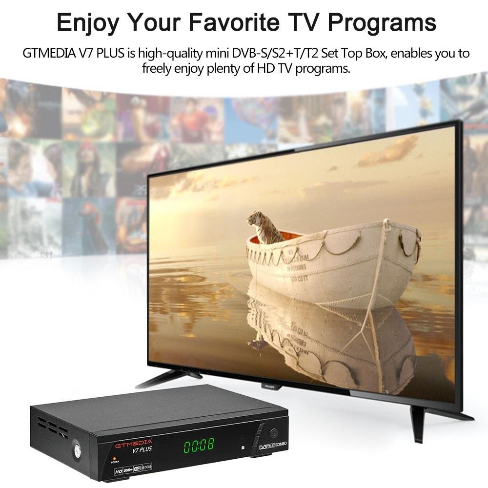 GTMEDIA V7 PLUS DVB-S2 DVB-T2 TV Combo Receiver