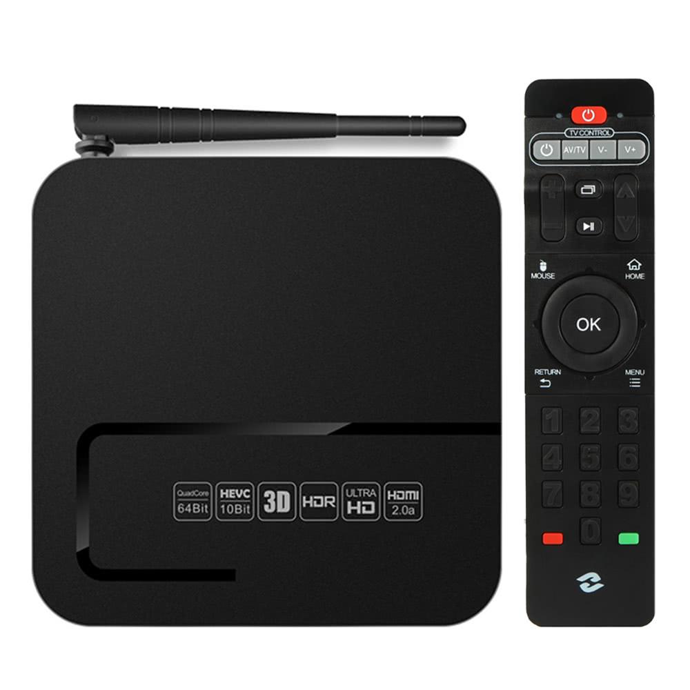 Zidoo X8 Smart Android TV Box Android 6 0 OpenWRT(NAS) Realtek RTD1295 Quad  Core 2G / 8G H 265 UHD 4K VP9 2 4G / 5G WiFi 1000Mbps LAN KODI HDR USB3 0