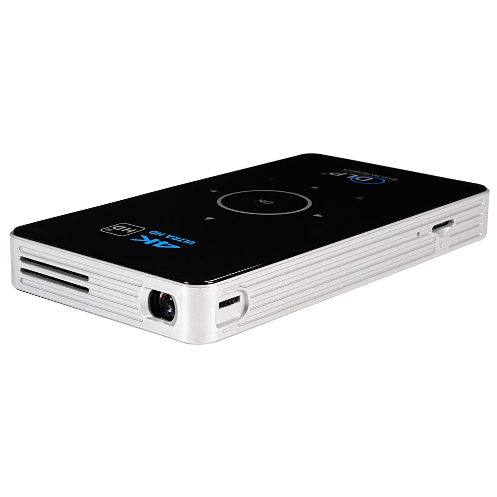 Best c6 dlp mini android projector home theater 2g eu for Best android mini projector