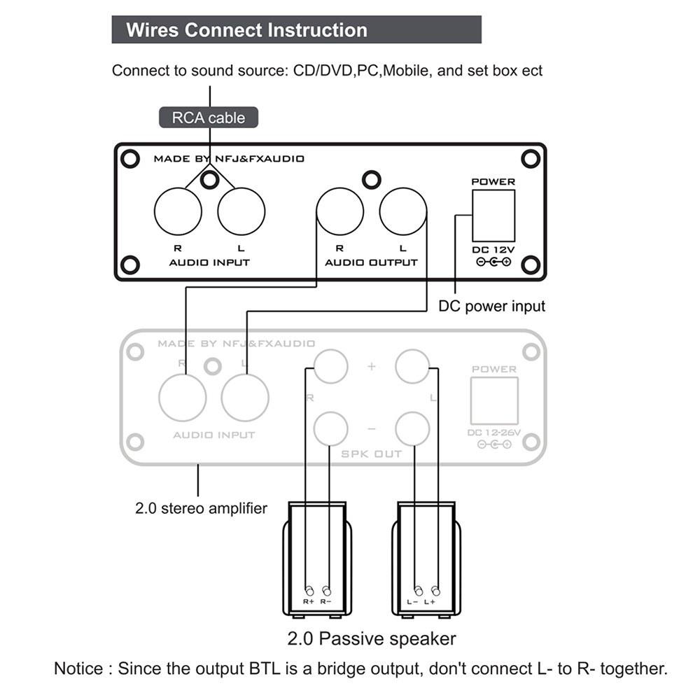 FX-AUDIO TUBE-03 Mini HiFi Audio Preamplifier
