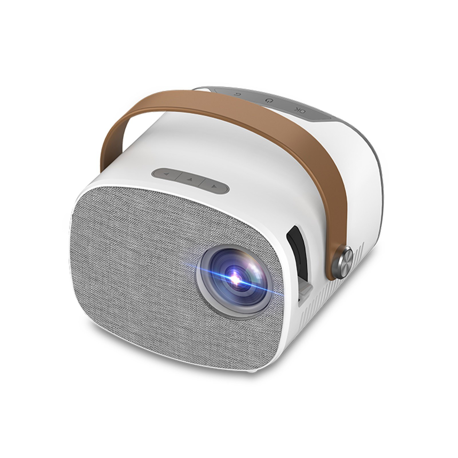 cafago.com - 32% OFF YG230 Mini Portable Projector Full HD 1080P Video Beamer Home Theater,free shipping+$66.52