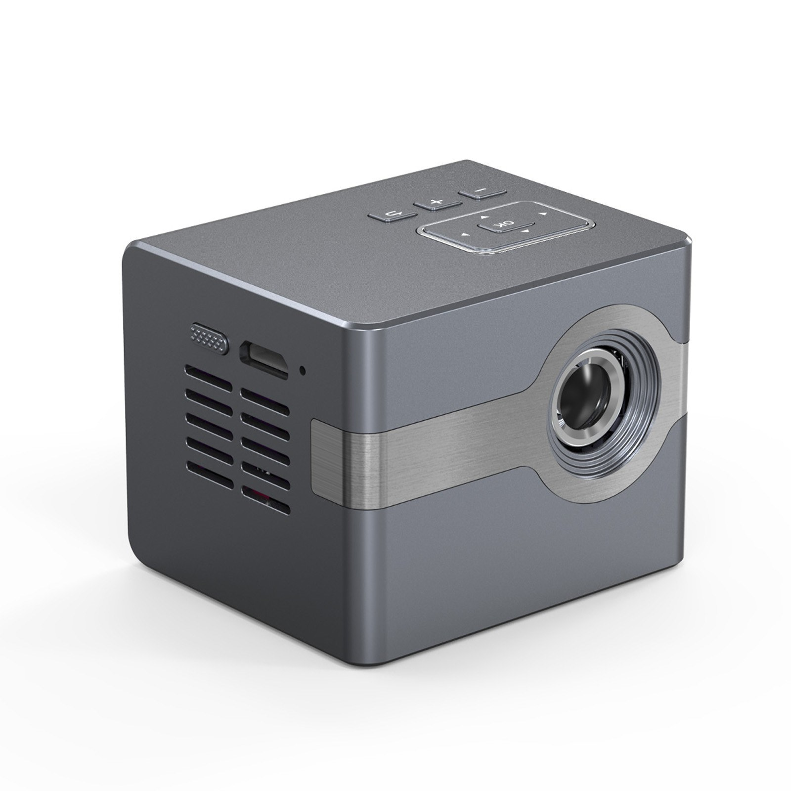 Tomtop - 34% OFF C50 Mini DLP Projector Portable Home Theater Projector, Free Shipping $125.99