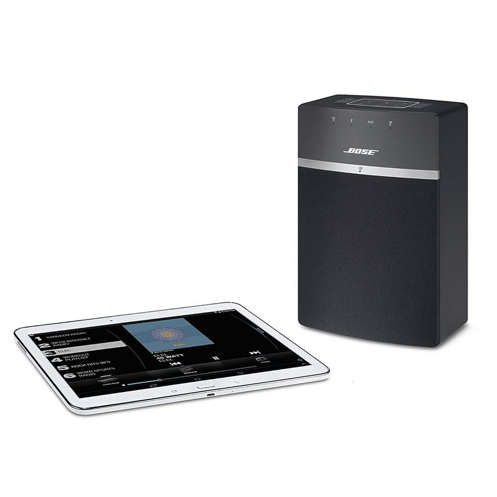 bose soundtouch 10 sans fil bt haut parleur st r o musique. Black Bedroom Furniture Sets. Home Design Ideas