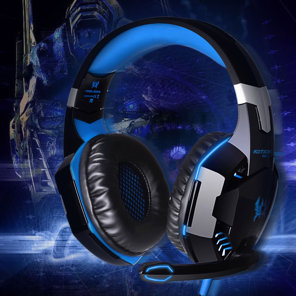 EACH G2000 Over-ear Game Gaming Headphone for PC Game