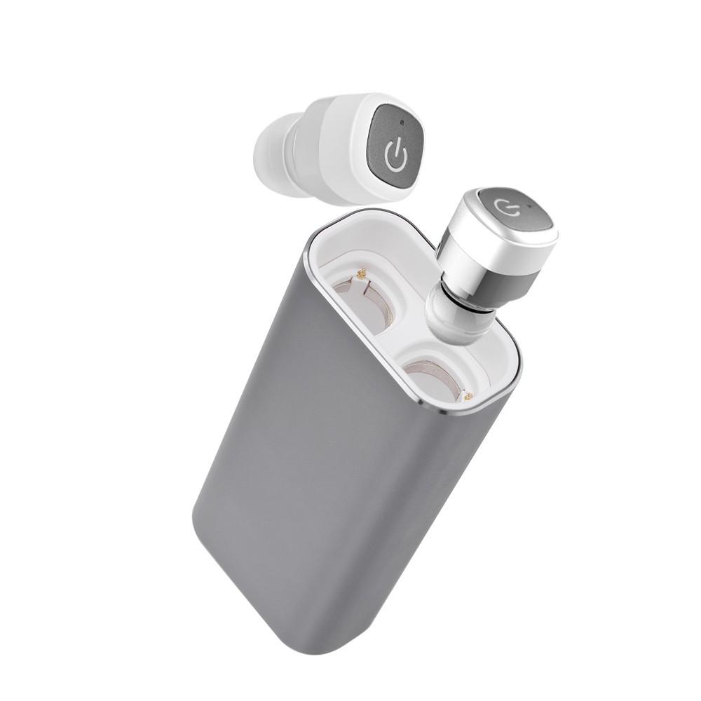 15137de7194 K6 True Wireless TWS Bluetooth 4.0 Earphone with 2100mAh Emergency Power  Bank