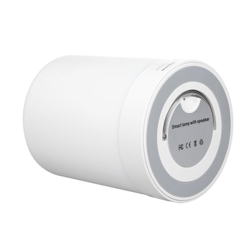 Mejor altavoz bluetooth l mpara de mesa de tocar luz gris for Lampara altavoz bluetooth