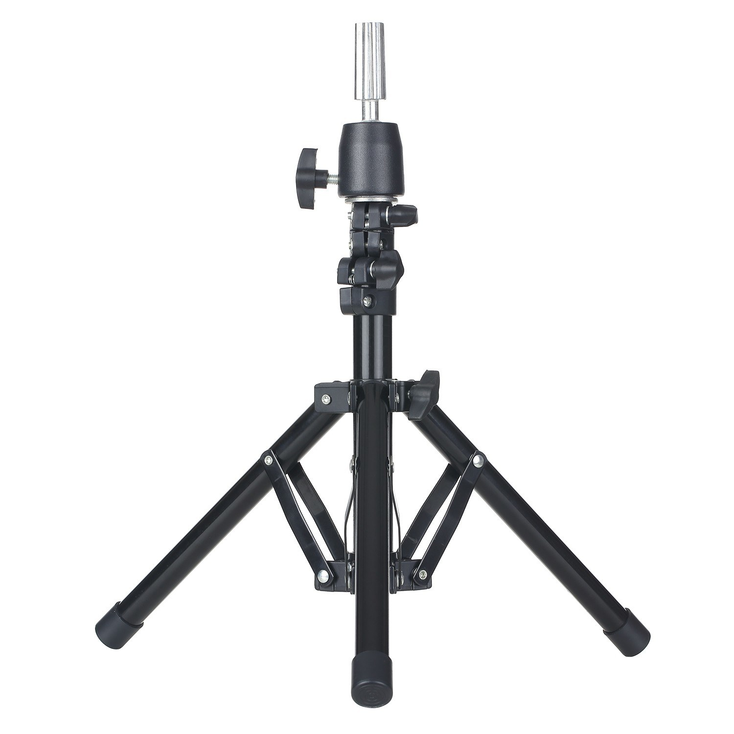 Cafago - 70% OFF Wig Stand Tripod with Cloth Storage Bag Non-Slip Base Adjustable Mannequin Head Stand,free shipping+$22.71