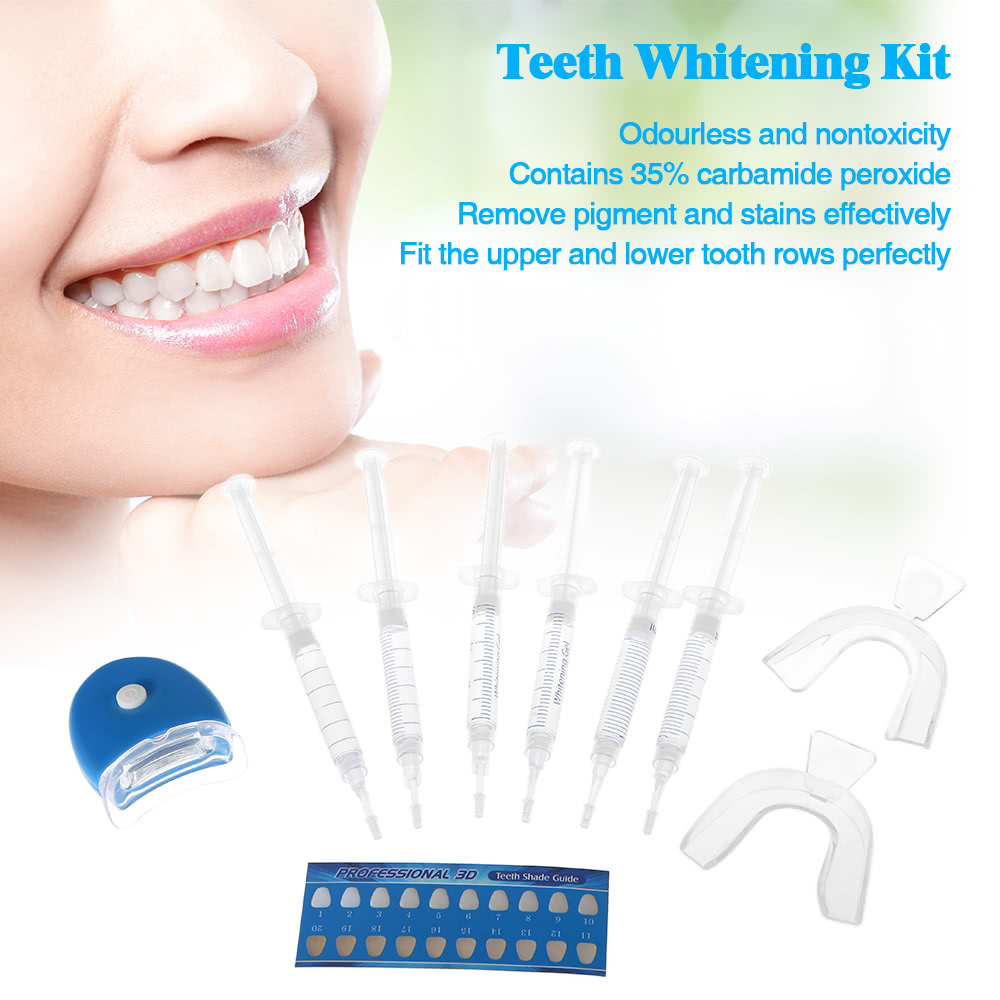 Dentes Whitening Kit Clareamento Dental Sistema Whiten Bandeja