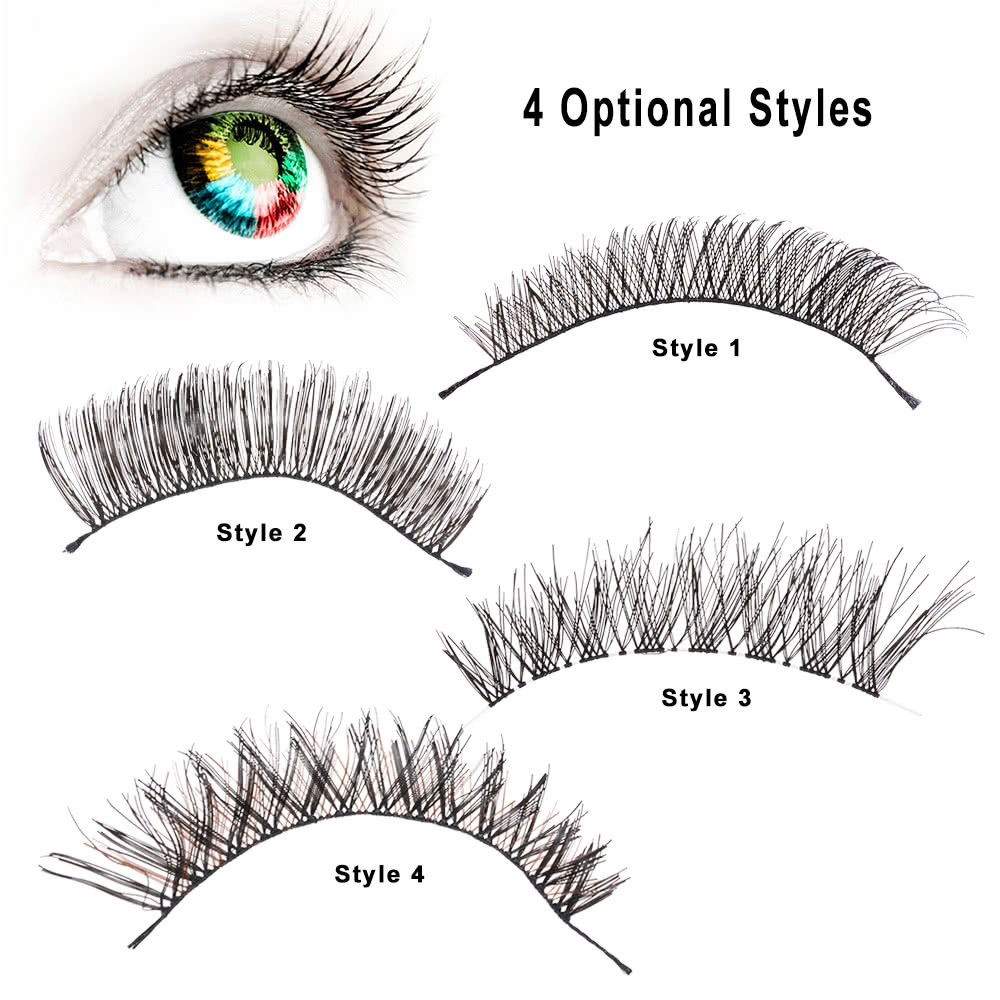 how to get straight eyelashes