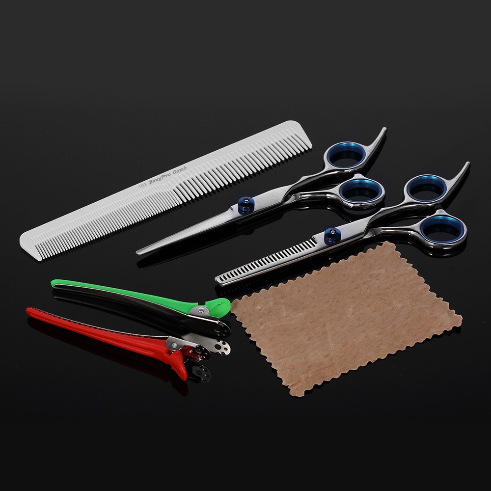 Professional Hair Cutting Scissors Set Barber Shears Hair Thinning Kit  Salon Home Hairdressing Tool Sales Online - Tomtop