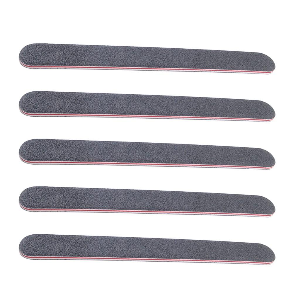 5pcs High Quality Sanding Nail File Buffer Black Nail Art Styling ...