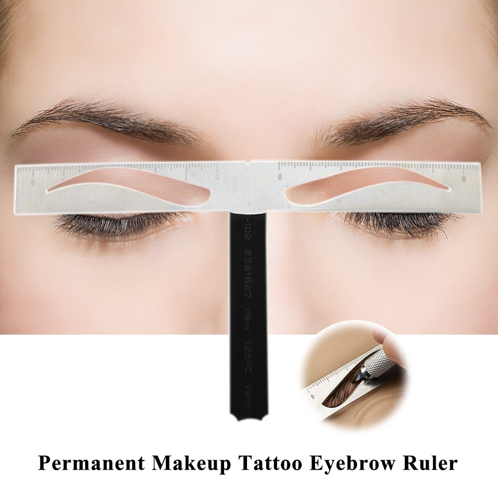 Permanent Makeup Tattoo Eyebrow Ruler Tattoo Eyebrow Guide