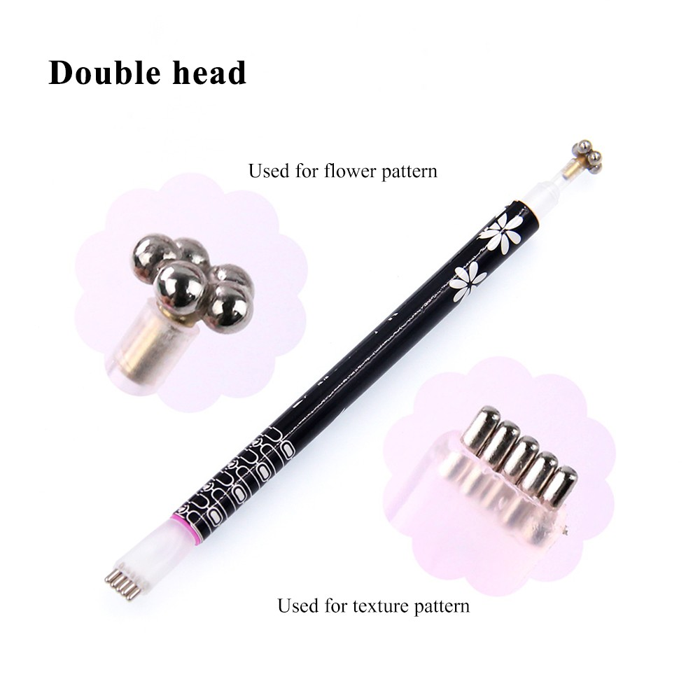 Nail Art Flower Cat Eye Magnet Pen Strip Magical Nail Stick Diy 3d