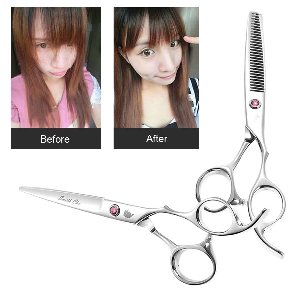 Smith Chu Hair Cutting Set Hair Thinning Scissor Hair Shear Kit ...