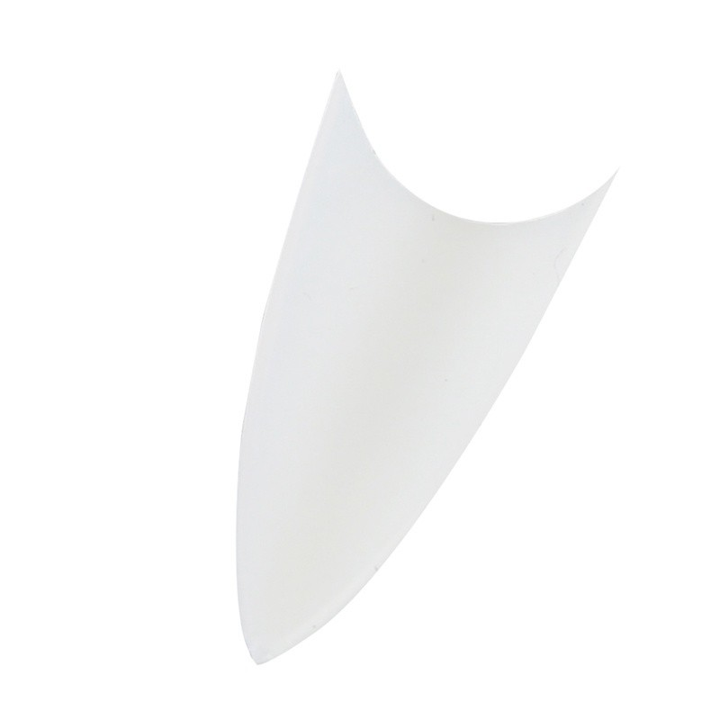 Stilettos Sharp Nail Art Acrylic False Nail Tip Natural Pointed(500 ...
