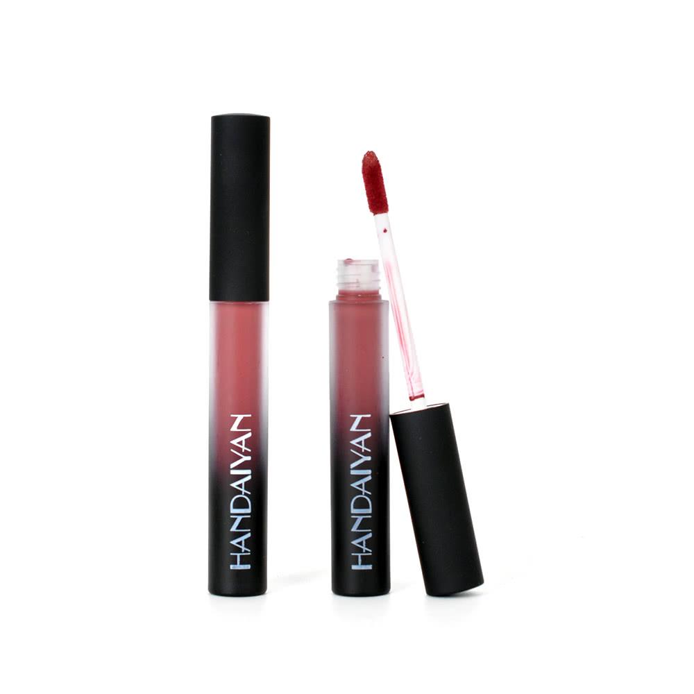 12 colors lip gloss cosmetics wasserdichte long lasting. Black Bedroom Furniture Sets. Home Design Ideas