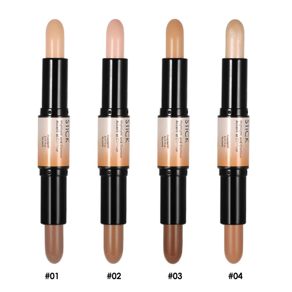 Double termin 2 in1 contour stick base maquillage 1 for Ouvrir un salon de bronzage