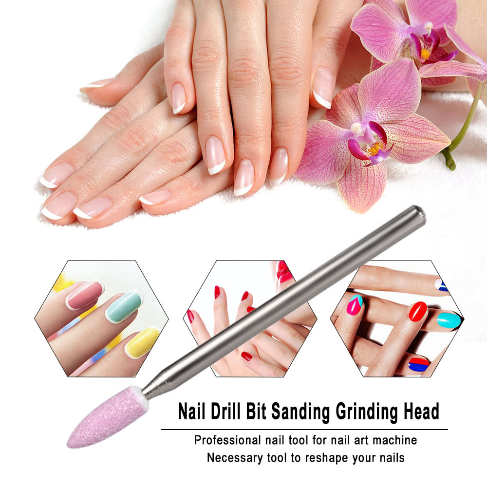 Nail Drill Bit Sanding Grinding Head for Polishing Electric Sander ...
