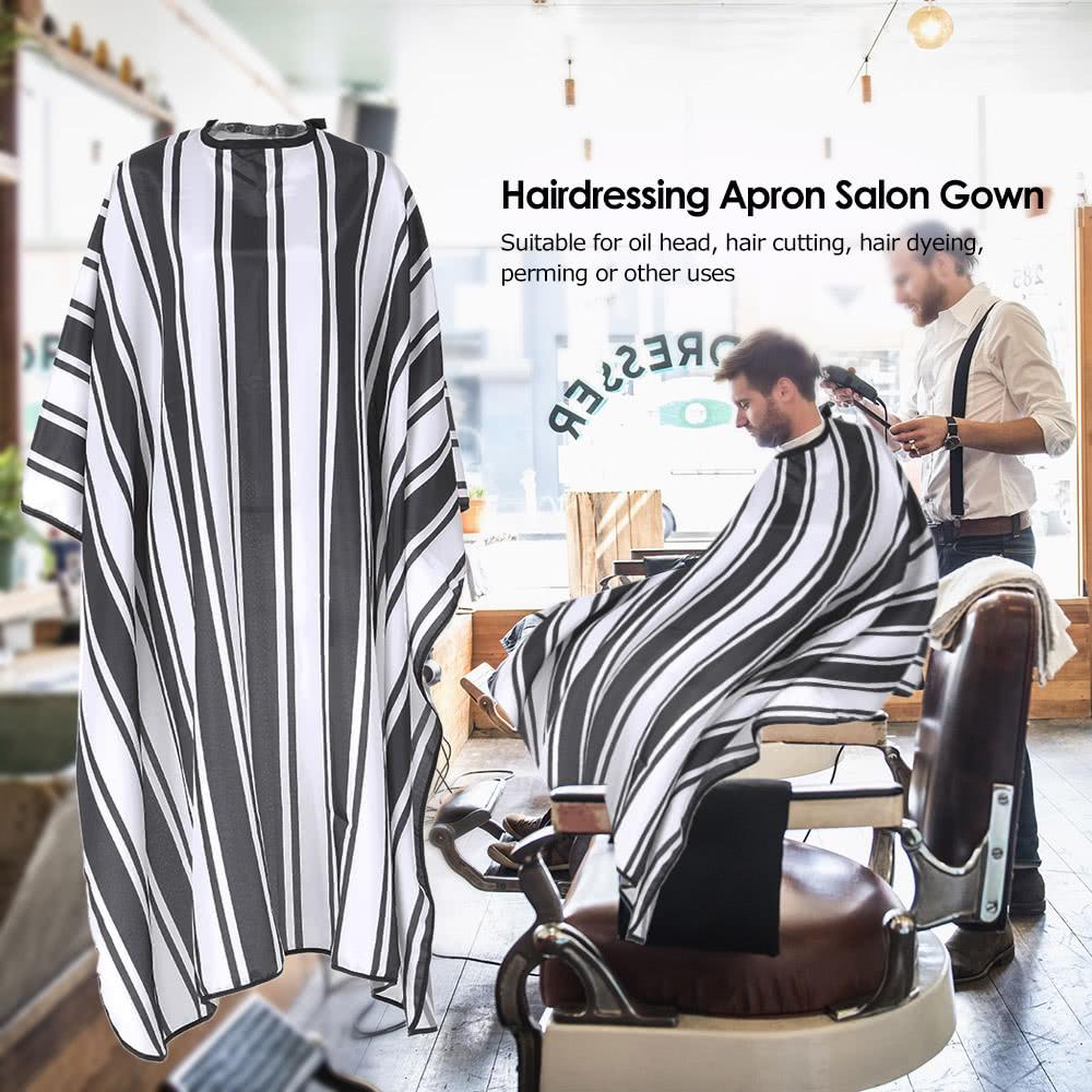 Tablier de coiffure salon robe imperm able cheveux coupe for Salon de coiffure anti poux