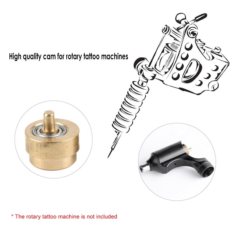 1Pc Tattoo Machine Bearings Practical Rotary Gun Liner Brass Cam ...