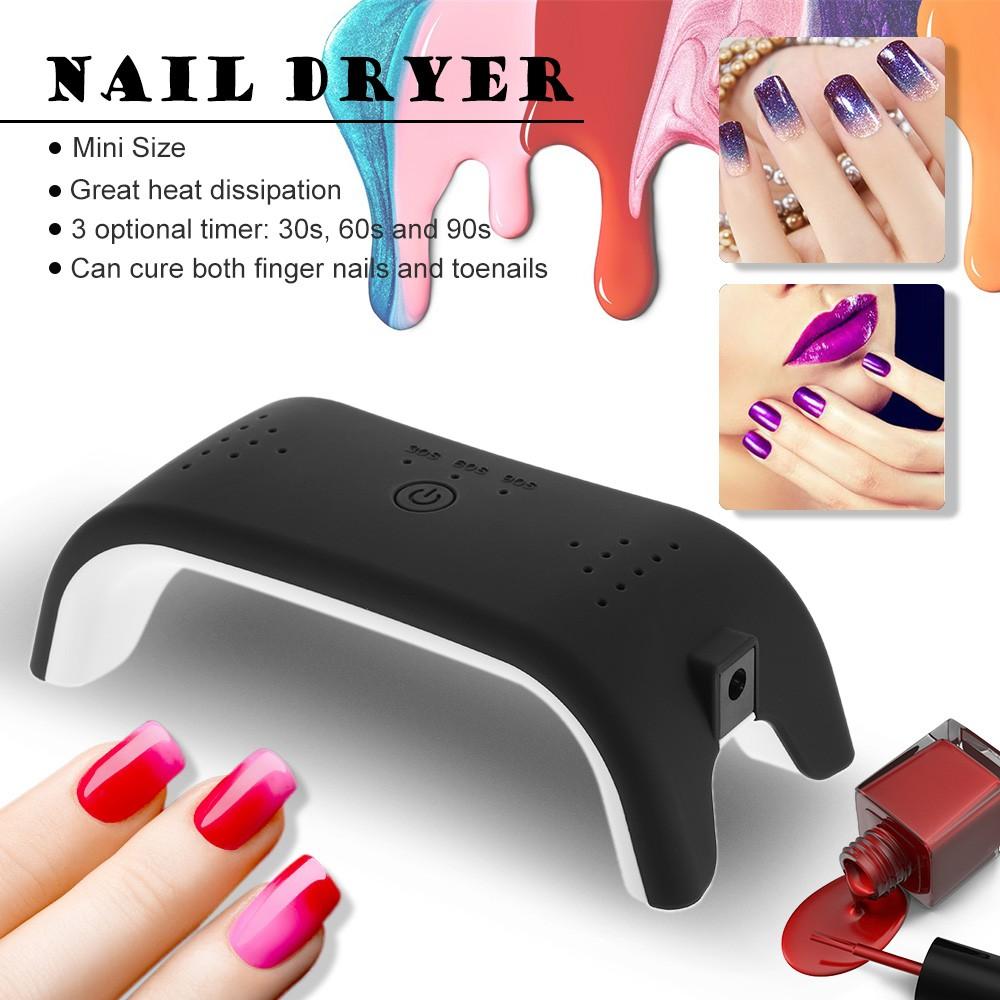 12w led nail dryer machine mini nail lamp fingernail for 10 over 10 nail salon