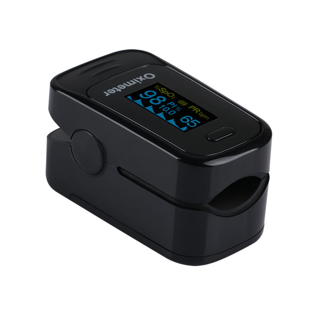 Mini Fingertip Pulse Oximeter Portable Digital Oled Display Heart Spo2 Rate Meter Blood Oxygen Pr Monitor Saturation Hemoglobin Tool Sales Online Black