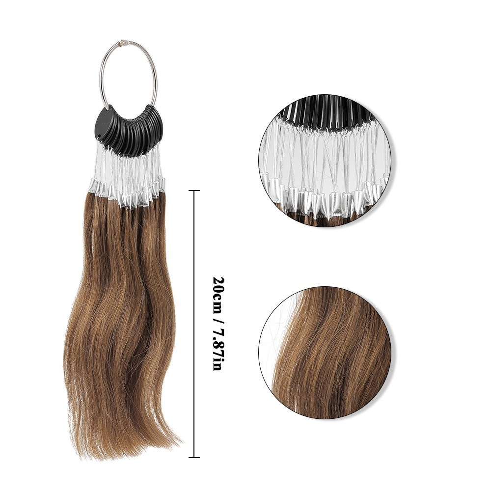 Salon Hair Extensions Color Rings Hair Color Chart Human Hair Sample ...