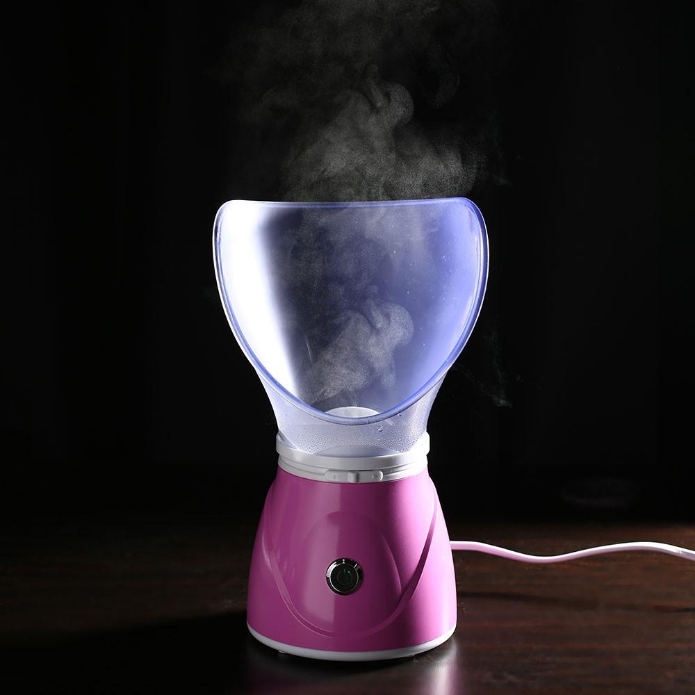 150W 110V-220V Purple EU Plug Facial Steamer Fog Nasal