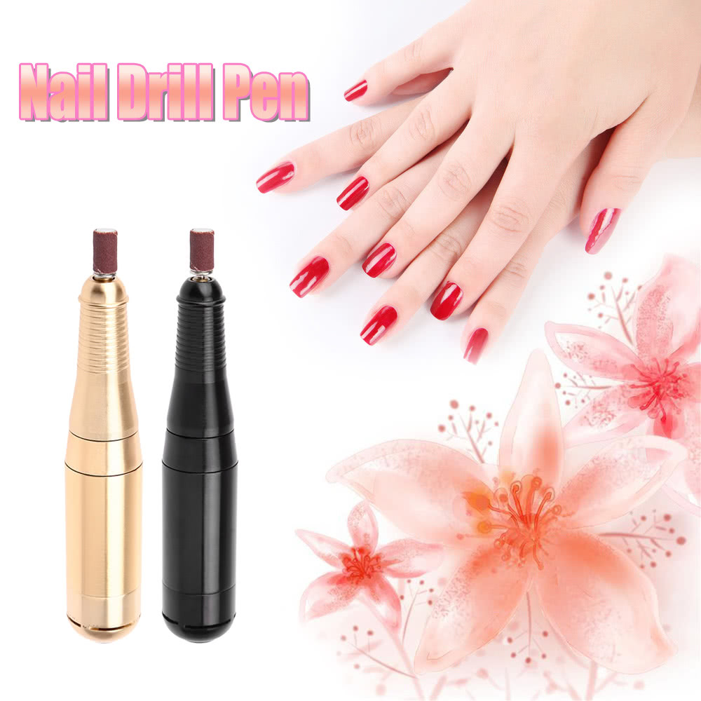 100-240V Electric Nail Drill Pen Nail Polish Shape Tool Manicure ...