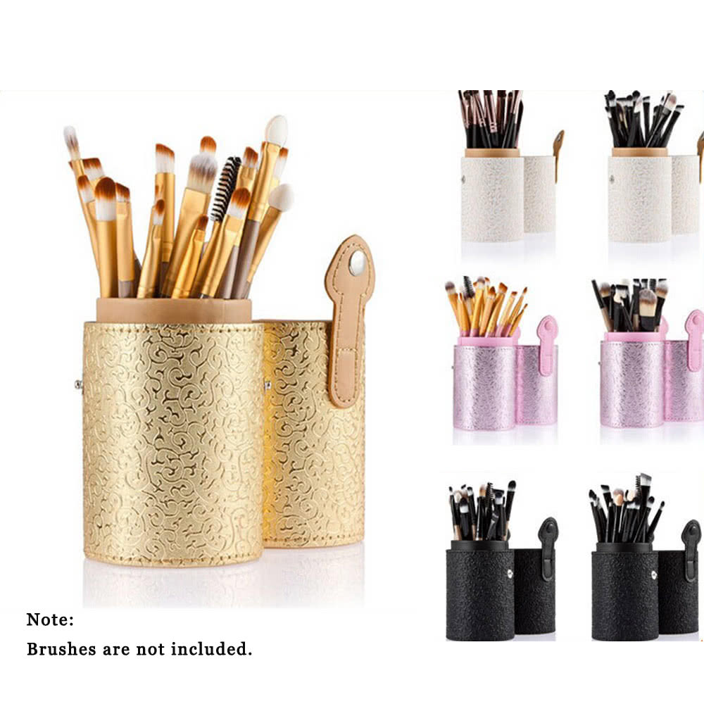 anself make up b rsten halter b rsten cup beh lter organisator pu kosmetik 4 farben lagerung. Black Bedroom Furniture Sets. Home Design Ideas